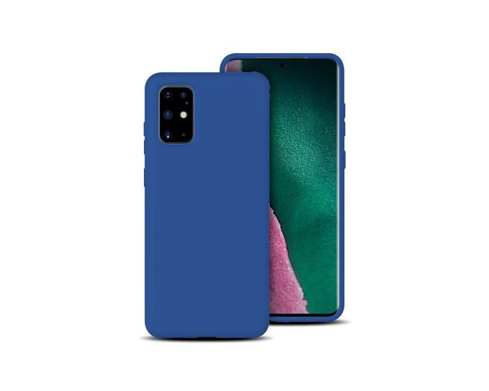 Forcell Ultra Thin Liquid Silicone Case Blue (Samsung Galaxy S20 Plus)