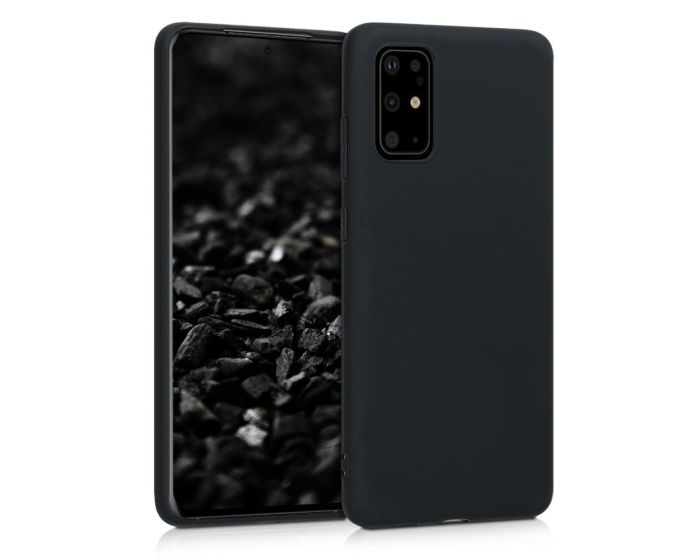 KWmobile TPU Silicone Case (51216.47) Black Matte (Samsung Galaxy S20 Plus)