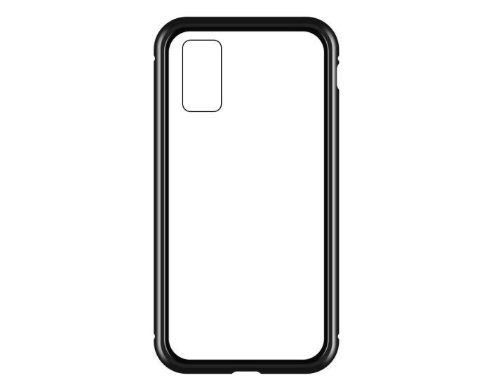 Wozinsky Magneto Full Glass Case - Μαγνητική Θήκη Clear / Black (Samsung Galaxy S20 Plus)
