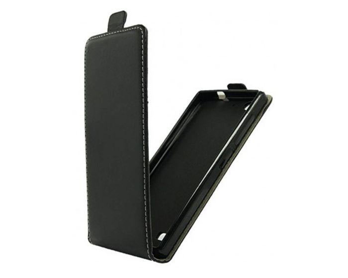 Forcell Vertical Wallet Slim Flip Case - Μαύρο (Samsung Galaxy S7)