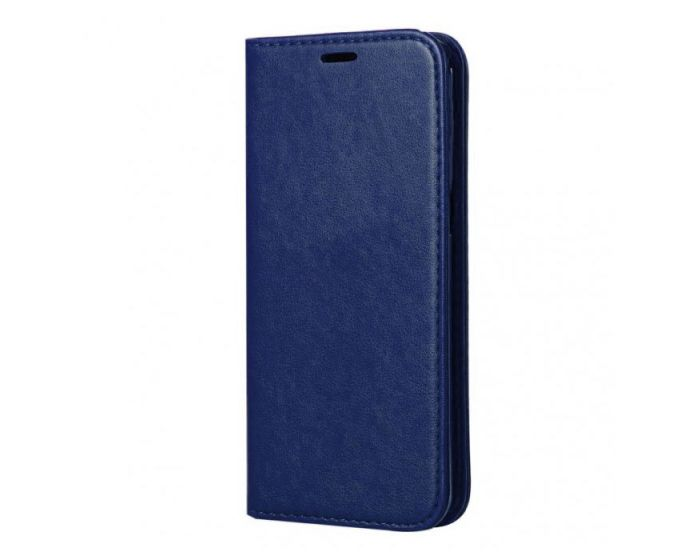 Forcell Magnet Wallet Case Θήκη Πορτοφόλι με δυνατότητα Stand Blue (Samsung Galaxy S8 Plus)