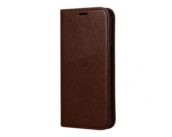 Forcell Magnet Wallet Case Θήκη Πορτοφόλι με δυνατότητα Stand Brown (Samsung Galaxy S8 Plus)