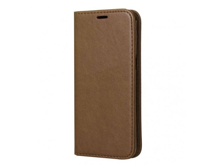 Forcell Magnet Wallet Case Θήκη Πορτοφόλι με δυνατότητα Stand Gold (Samsung Galaxy S8 Plus)