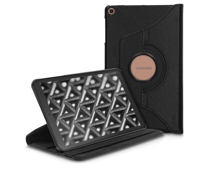 KWmobile Περιστρεφόμενη 360 μοίρες Θήκη Case Stand (47847.01) Μαύρο (Samsung Galaxy Tab A 10.1 2019)