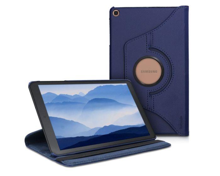 KWmobile Περιστρεφόμενη 360 μοίρες Θήκη Case Stand (47847.17) Σκούρο Μπλε (Samsung Galaxy Tab A 10.1 2019)
