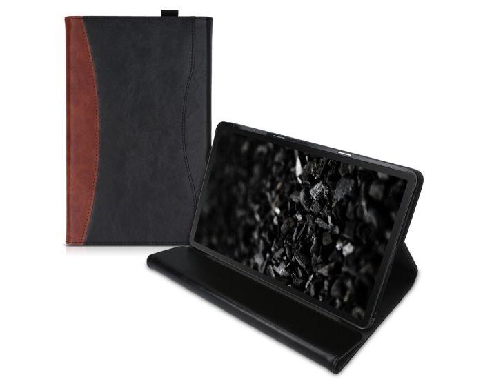 KWmobile PU Leather Portfolio Case Stand (50555.01) Brown / Black (Samsung Galaxy Tab A 10.1 2019)