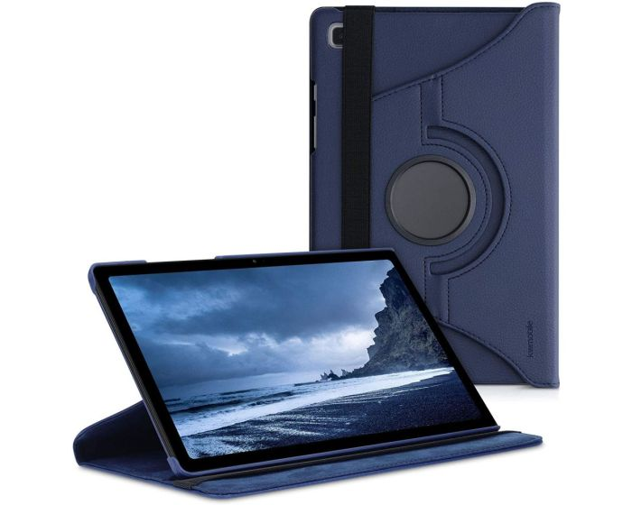 KWmobile Περιστρεφόμενη 360 μοίρες Θήκη Case Stand (53386.17) Dark Blue (Samsung Galaxy Tab A7 10.4)