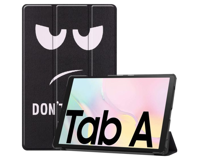 Tri-Fold Book Case με δυνατότητα Stand - Don't Touch Me (Samsung Galaxy Tab A7 10.4)