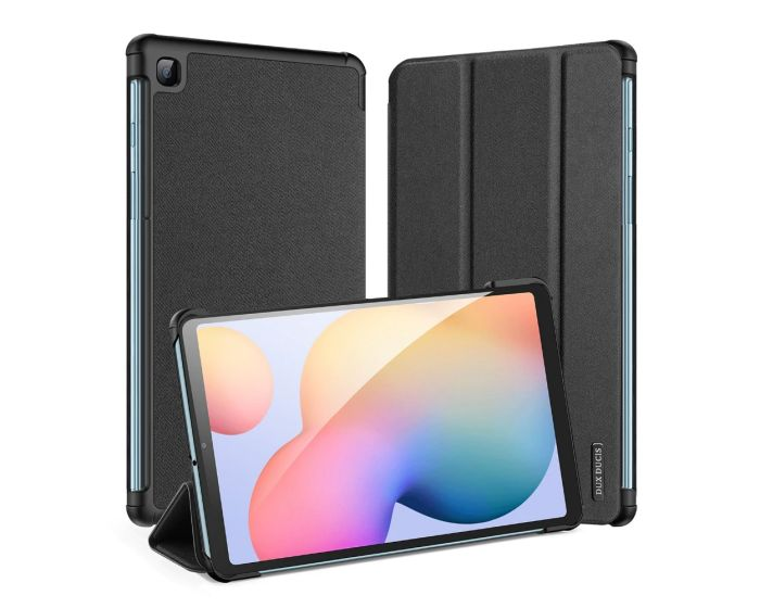 DUX DUCIS Domo Smart Book Case Θήκη με Δυνατότητα Stand - Black (Samsung Galaxy Tab S6 Lite 10.4)