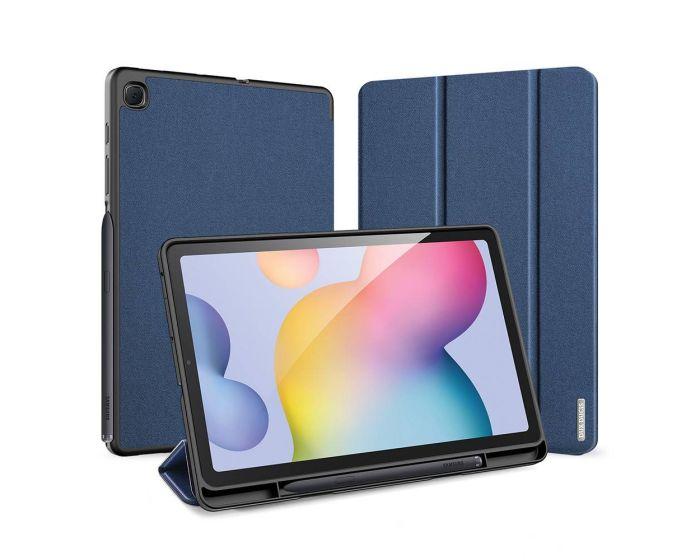 DUX DUCIS Domo Smart Book Case Θήκη με Δυνατότητα Stand - Navy Blue (Samsung Galaxy Tab S6 Lite 10.4)