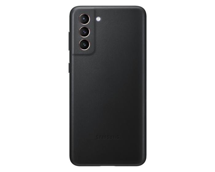 Samsung Official Leather Cover (EF-VG996LBEGWW) Δερμάτινη Θήκη Black (Samsung Galaxy S21 Plus 5G)