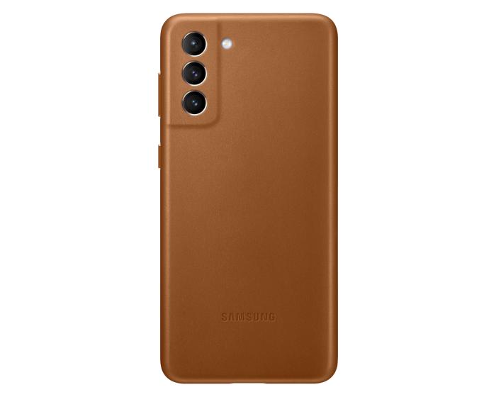 Samsung Official Leather Cover (EF-VG996LAEGWW) Δερμάτινη Θήκη Brown (Samsung Galaxy S21 Plus 5G)