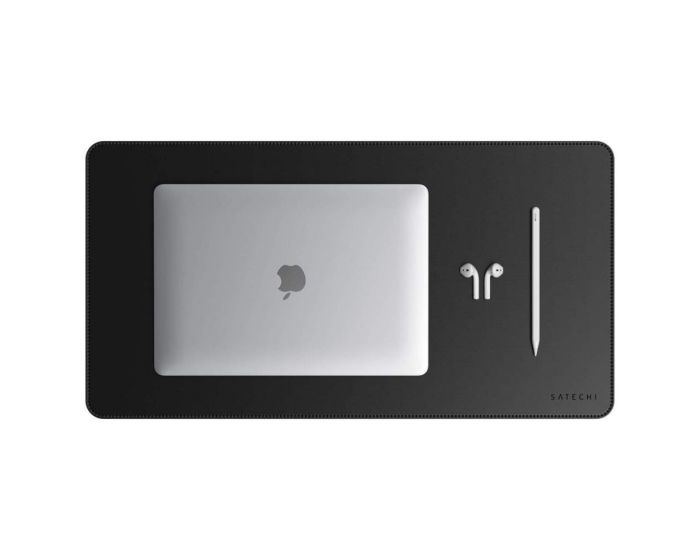 SATECHI DeskMate Eco Leather Mouse Pad - Black