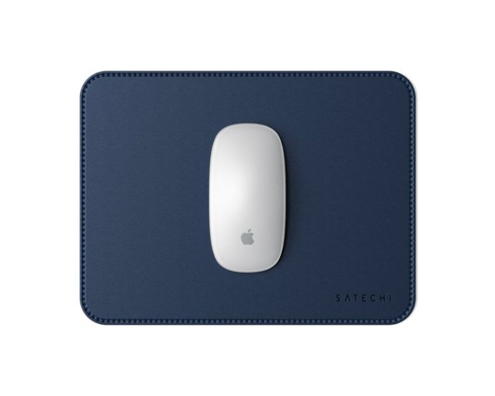 SATECHI Eco Leather Mouse Pad - Blue