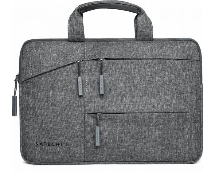 SATECHI Water Resistant Carrying Case with Pockets Θήκη Τσάντα για MacBook / Laptop 15'' - Gray