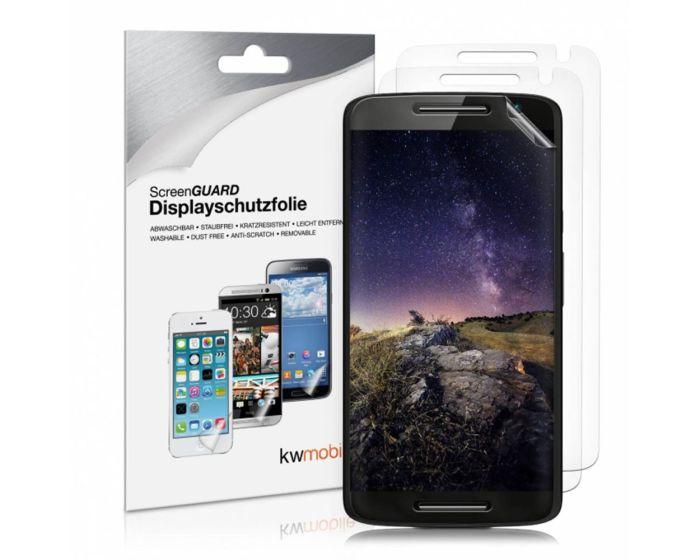 KWmobile Μεμβράνη Προστασίας Οθόνης - 3 Τεμάχια (34701.1) (Motorola Moto X Play)