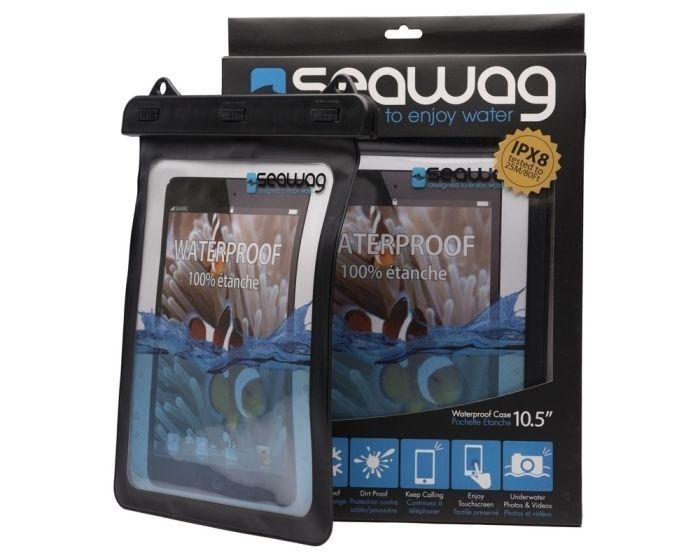 Seawag IPX8 Universal Αδιάβροχη Θήκη για Tablet έως 10.5'' - Black