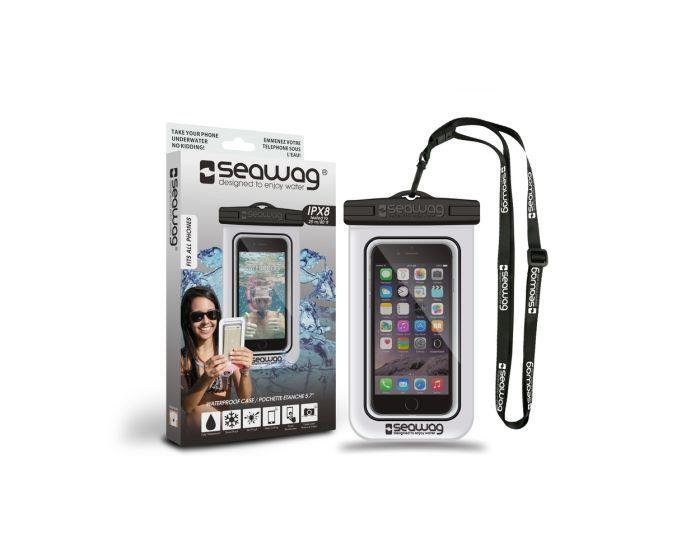 Seawag IPX8 Universal Αδιάβροχη Θήκη για Smartphones έως 5.7'' - White / Black