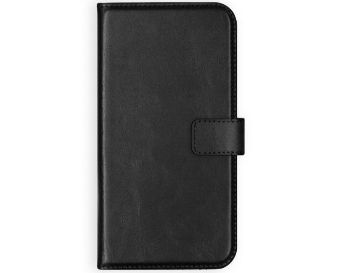 Selencia Era Genuine Leather Wallet Case Δερμάτινη Θήκη Πορτοφόλι - Black (Samsung Galaxy A12)