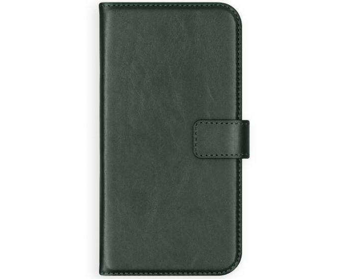 Selencia Era Genuine Leather Wallet Case Δερμάτινη Θήκη Πορτοφόλι - Green (Samsung Galaxy A12)