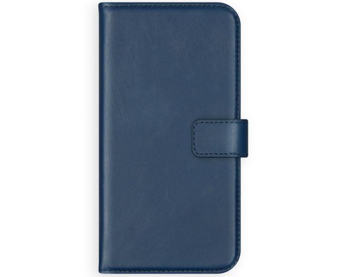 Selencia Era Genuine Leather Wallet Case Δερμάτινη Θήκη Πορτοφόλι - Blue (Samsung Galaxy A72 4G / 5G)