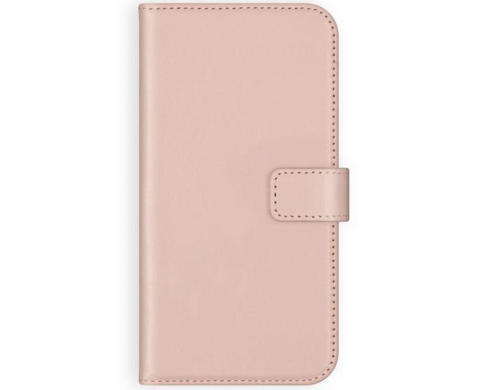 Selencia Era Genuine Leather Wallet Case Δερμάτινη Θήκη Πορτοφόλι - Rose (iPhone 12 Pro Max)