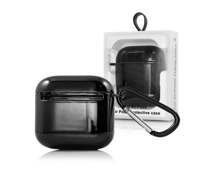 Shining Airpods Pro Hard Case Ανθεκτική Θήκη για Airpods Pro - Black