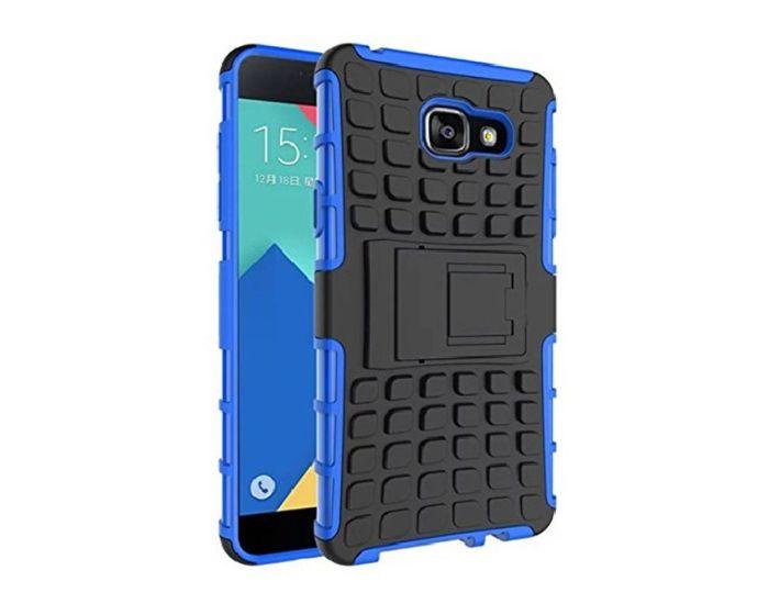 Shockproof Case Ανθεκτική Θήκη με Δυνατότητα Stand Μπλε + Μεμβράνη Οθόνης (Samsung Galaxy Note 5)