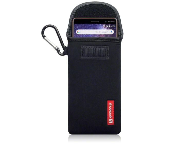 Shocksock Θήκη - Πουγκί Pull up Case (121-001-006) Μαύρο (Nokia 7 Plus)