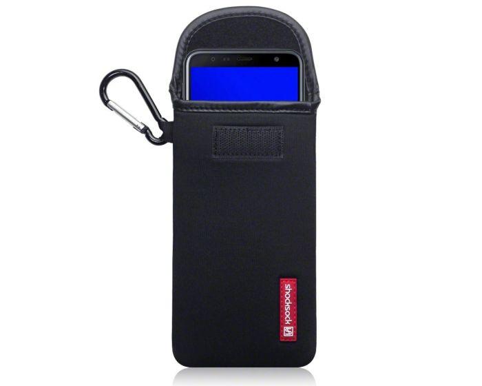 Shocksock Θήκη - Πουγκί Pull up Case (121-002-048) Μαύρο (Samsung Galaxy J4 Plus 2018)