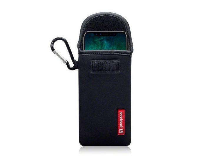 Shocksock Θήκη - Πουγκί Pull up Case (121-125-001) Μαύρο (iPhone X / Xs)