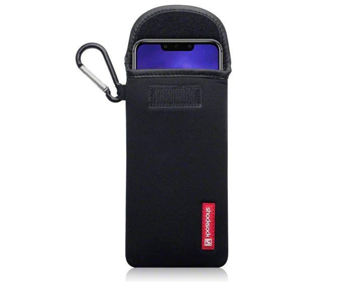 Shocksock Θήκη - Πουγκί Pull up Case (121-083-017) Μαύρο (Huawei Mate 20 Lite)