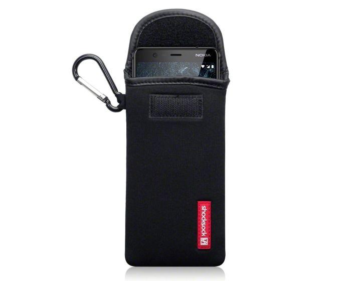 Shocksock Θήκη - Πουγκί Pull up Case (121-001-008) Μαύρο (Nokia 5.1 2018)