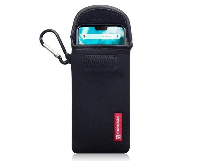 Shocksock Θήκη - Πουγκί Pull up Case (121-001-012) Μαύρο (Nokia 7.1 2018)