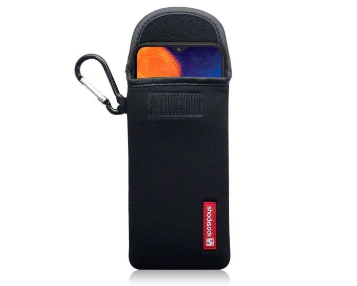 Shocksock Θήκη - Πουγκί Pull up Case (121-002-054) Μαύρο (Samsung Galaxy A10)