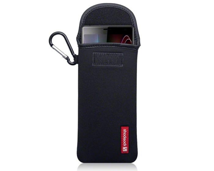 Shocksock Θήκη - Πουγκί Pull up Case (121-005-041) Μαύρο (Sony Xperia 10 Plus)