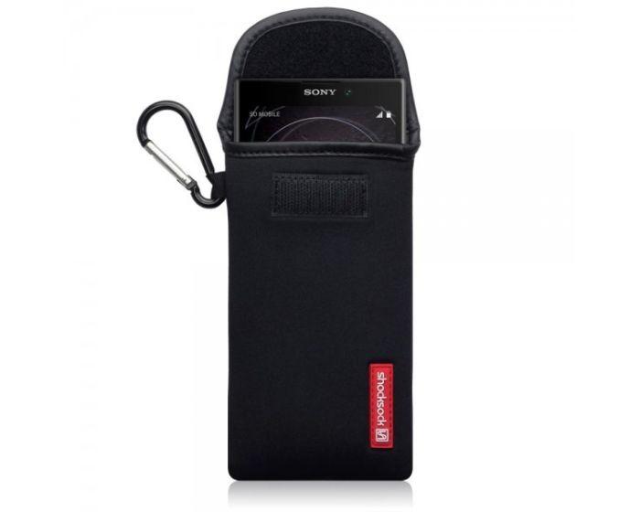Shocksock Θήκη - Πουγκί Pull up Case (121-005-033) Μαύρο (Sony Xperia L2)