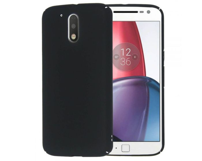 SHTL Θήκη Καουτσούκ Extra Slim Fit (138944) Μαύρο (Motorola Moto G4 / G4 Plus)