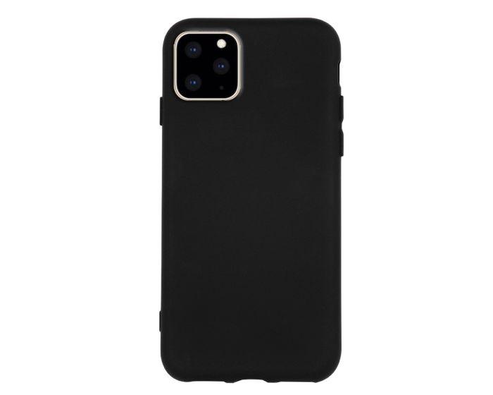 Θήκη Σιλικόνης Slim Fit Liquid Silicone Case Black (iPhone 11 Pro Max)