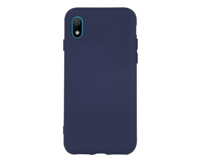 Θήκη Σιλικόνης Slim Fit Liquid Silicone Case Navy Blue (Huawei Y5 2019)
