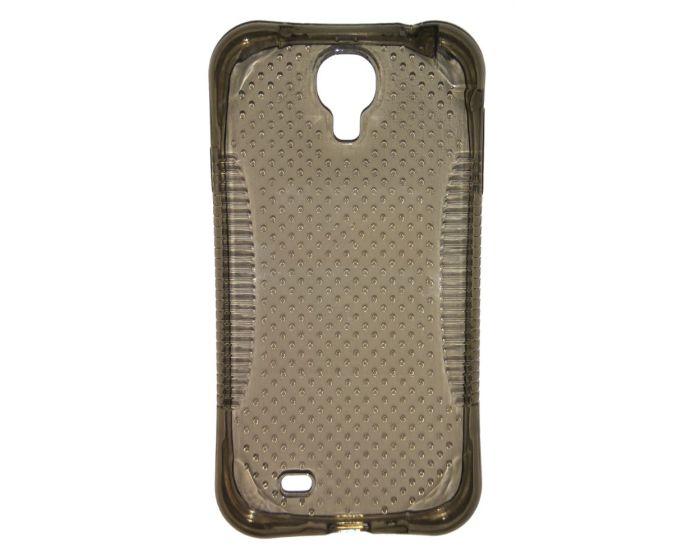 Θήκη Σιλικόνης Air Cushion Anti-Knock Ημιδιάφανη Smoke Black (Samsung Galaxy S4)