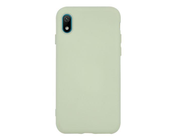 Θήκη Σιλικόνης Slim Fit Liquid Silicone Case Green (Huawei Y5 2019)