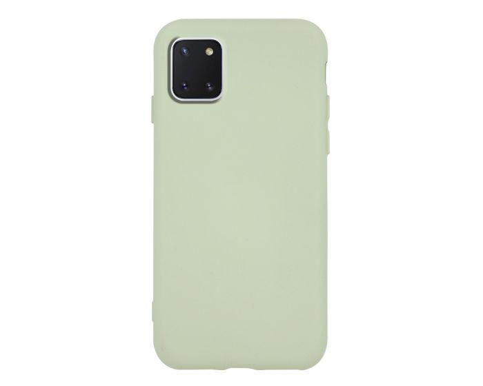 Θήκη Σιλικόνης Slim Fit Liquid Silicone Case Green (Samsung Galaxy Note 10 Lite)