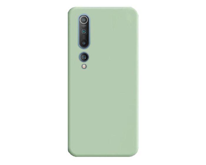 Θήκη Σιλικόνης Slim Fit Liquid Silicone Case Green (Xiaomi Mi 10 / Mi 10 Pro)