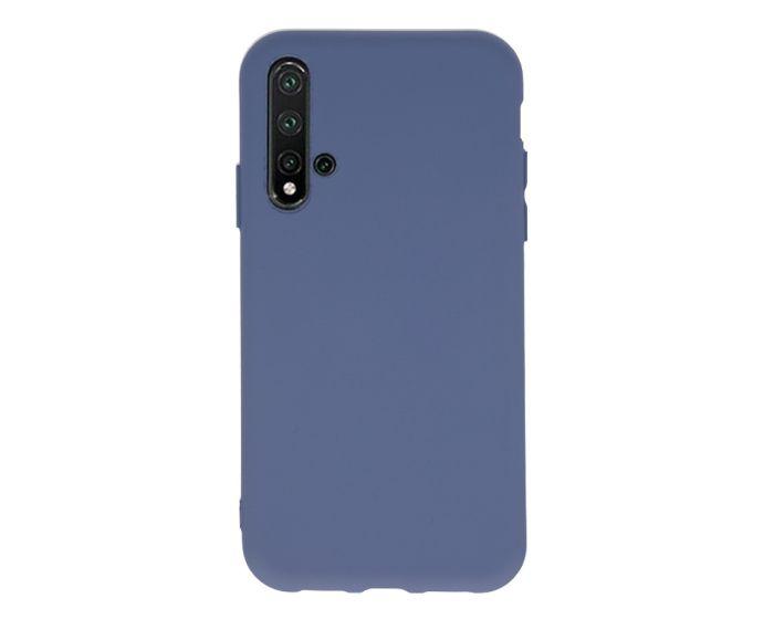 Θήκη Σιλικόνης Slim Fit Liquid Silicone Case Marengo (Huawei Nova 5T / Honor 20)