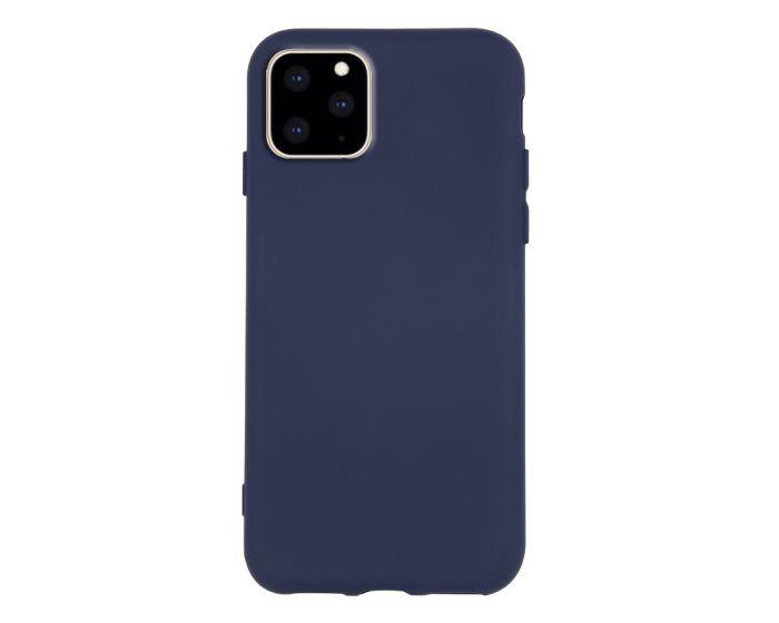 Θήκη Σιλικόνης Slim Fit Liquid Silicone Case Navy Blue (iPhone 11 Pro Max)