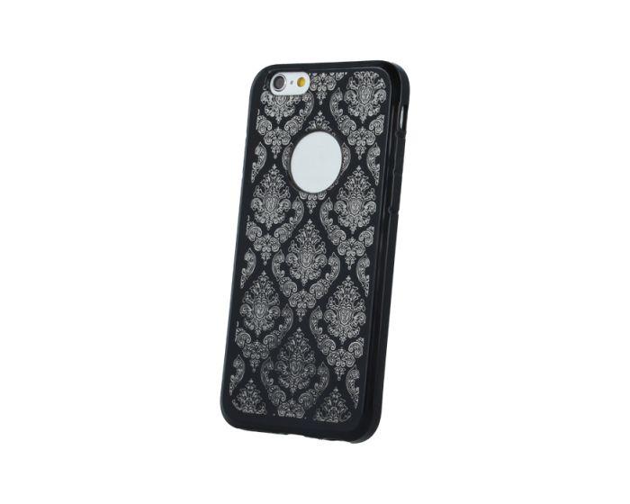Silicone Case Ornament Θήκη Σιλικόνης Μαύρη (Huawei P9 Lite)