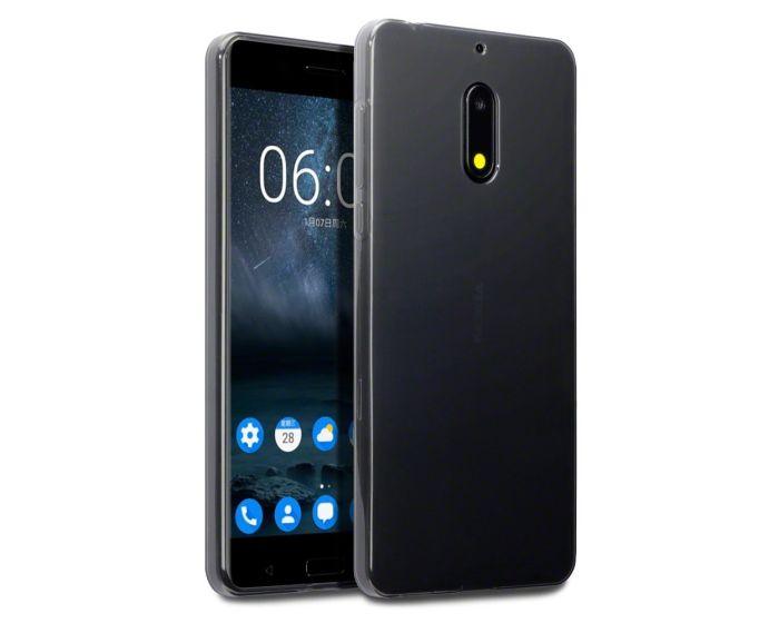 Terrapin Θήκη Σιλικόνης Slim Fit Silicone Case (118-001-228) Smoke Black (Nokia 6)