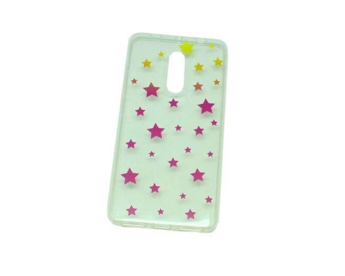 Soft Silicone Fit Case - Θήκη Σιλικόνης Stars (Xiaomi Redmi Note 4 / 4X)