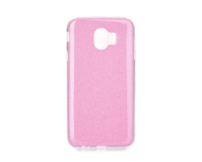 Forcell Glitter Shine Cover Hard Case Pink (Samsung Galaxy J4 2018)